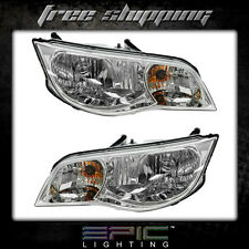 Fits 2003-07 Saturn Ion Coupe Headlights Headlamps Pair Left Right Set