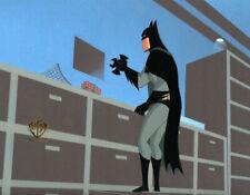 BATMAN New Adventure ANIMATED SERIES LARGE POSE PRODUCTION ANIMATION WB CEL 1998