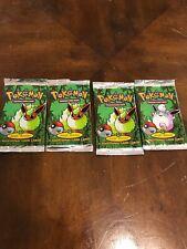 Lot Of Pokemon Jungle Empty Booster Packs