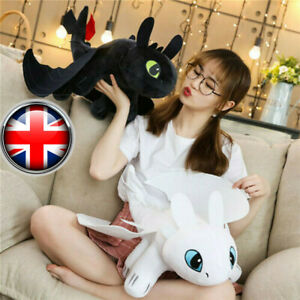 How To Train Your Dragon 3 Toothless Anime Plush Doll Light Night Fury Xmas Toys