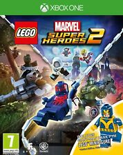 LEGO Marvel Super Heroes 2 Xbox One Game with Minifig.