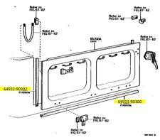 Rear Drop Down Gate Weatherstrip Kit for Land Cruiser FJ40 BJ46