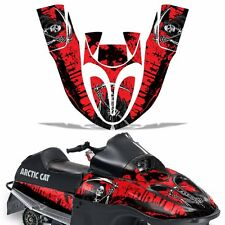 Sled Graphic Kit Arctic Cat SnoPro 120 Sno Pro Snowmobile Wrap Decal REAP RED