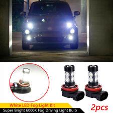 50W 2400lm H16 Super Bright 6000K White LED Fog Driving Light Bulb