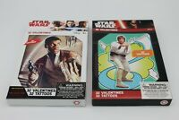Lot of 2 New Star Wars Box Of 32 Valentines Card And Tattoos