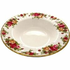 Royal Albert Old Country Roses Rimmed Soup Bowl 24cm