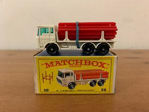 Matchbox 58 DAF Girder Truck