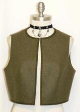 LODEN WOOL ~ German Designer Dress Skirt VEST 44 8 S