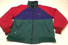 47f2e7dfe Vtg Men's Lands End Squall Jacket Coat Fleece Lined Colorblock Full Zip Sz S