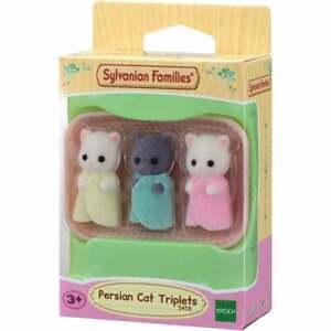 Sylvanian Families Persian Cat Triplets  5458   UK Seller