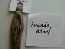 Over-dyed,embroidery floss,Havana Brown, DMC CONVERSION 841/642,  20yards