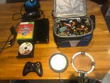 Xbox 360 With Skylanders Game And Bundle Of Characters, 2 portals
