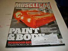 MUSCLE CAR REVIEW APRIL 2013