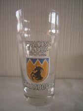 Rare et petit verre à bière émaillé FREYSZ EXTRA BOCK 3/20L strasbourg