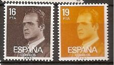 Spain  Edifil # 2558/2559 ** MNH Set Basica Juan Carlos / definitives