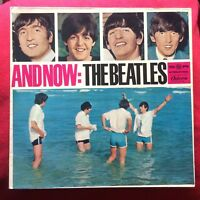 AND NOW: The Beatles  German LP 73735 P15 vinile Lennon McCartney Harrison Starr