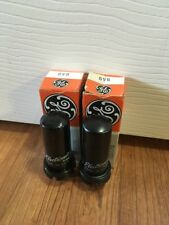 Lot Of 2 GE 6V6 Radio Vacuum Tubes NOS New Old Stock