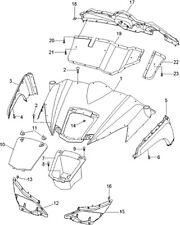 coffre   quad RS8 Hsun ( pièce n°7 sur le  plan)