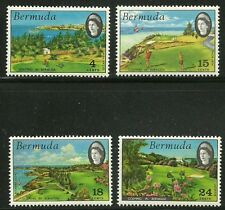 Album Treasures Bermuda Scott # 284-287 Golfing in Bermuda Mint NH