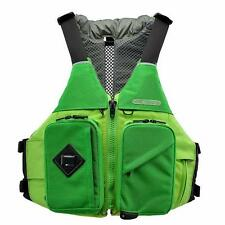 "Green Ronny Fisher Astral Designs Life Vest PFD w/Thin Vent, S/M 31-37"" chest"