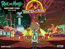 Cryptozoic Entertainment Rick and Morty Anatomy Park Game NEW