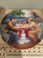 Dites Moi Collectors Plate South Pacific series Coa