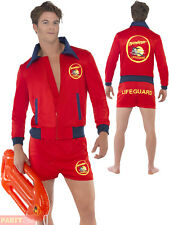 Smiffys 20587l Red Baywatch Lifeguard Costume