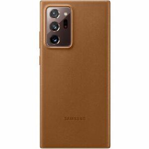 Original Samsung Leather Smartphone Cover EF-VN985 für Galaxy Note20 Ultra 5G, e