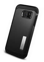 Coque Galaxy S7 Edge, Spigen [Tough Armor] HEAVY DUTY [Black] EXTREME Protection