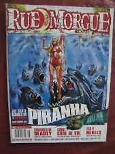 Rue Morgue # 103 Piranha & Count Gore De Vol