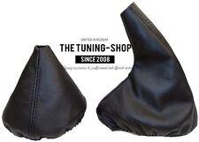For Bmw 3 Series E36 E46 Gear & Handbrake Boot Black Leather