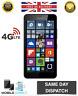 "BNIB Microsoft Nokia Lumia 640 XL 5.7"" LTE 4G Black 8GB 13MP SimFree SmartPhone"