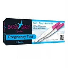 Early Bird Swift Pregnancy Test x 2 (Clear Blue Equivalent) 99% Accurate