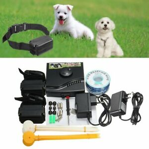 Electric Fence Invisible Body Guardience Wireless For Pet Dog Anti-Loss Defender