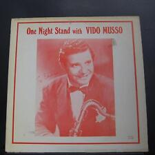 Vido Musso - One Night Stand With LP VG+ 751211 Joyce Stereo USA Vinyl Record