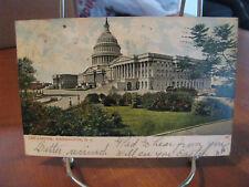 "1906 ""The Capitol, Washington, D.C."" Postcard"