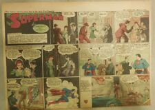 Superman Sunday Page #133 by Siegel & Shuster from 5/17/1942 Half Page:Year #3!