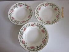 """Homer Laughlin Soup Bowls 8 1/4"""" K 46 N 6 made in the U.S.A"""