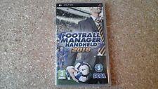 Football Manager Handheld 2010 (Sony PSP, 2009)