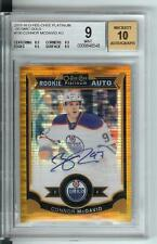 15/16 OPC Platinum Seismic Gold Auto Connor McDavid RC BGS MINT 9  AUTOGRAPH 10
