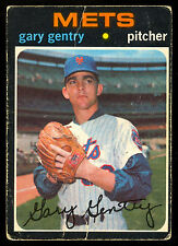 1971 TOPPS OPC O PEE CHEE BASEBALL #725 GARY GENTRY SP VG NEW YORK N Y METS CARD