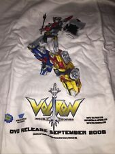 Voltron white extra-large 2006 T-shirt new old stock