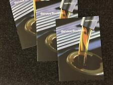 BMW 3 SERIES Service Book COVERS ALL MODELS
