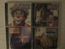 """SOUNDS OF THE CIRCUS"" South Shore Band: Circus Marches(Vol.18,21,22,23)Set Of 4"