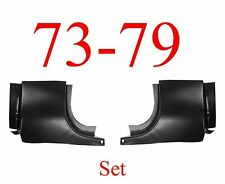 73 79 Ford Front Door Post SET, Regular Cab, Truck, F150 F250 F350 78 79 Bronco