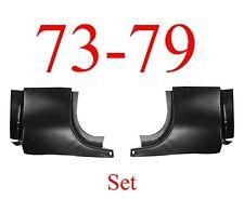 73 79 Ford Front Door Post SET, Regular Cab, Truck, F150 F250 F350 78 79 Bronco