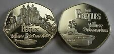 THE BEATLES.YELLOW SUBMARINE. 50p COIN COLLECTORS.COIN HUNT. SILVER.NEW.LENNON