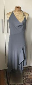 SEDUCE Brand Asymmetrical Metal Detail Dress - Size 12