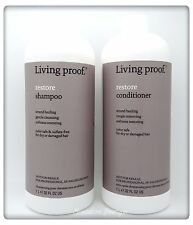 Living Proof Restore Shampoo & Restore Conditioner 1Liter 32 oz Duo With Pumps