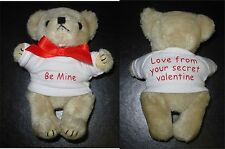 Personalised Mini Bear 12.5cm Great for Birthday/Teacher/Prize/Stockng Filler